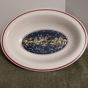 Vintage Oneida #5572 Holiday Harbor Veggie Bowl